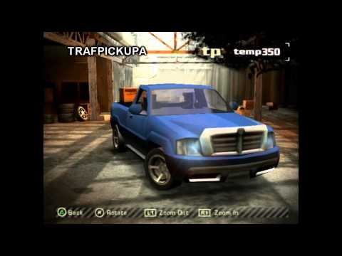 NFS Most Wanted - PlayStation 2 Demo Cars