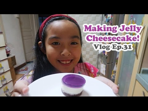 Making Jelly Cheesecake | Singapore Test Kitchen | Vlog Ep 31