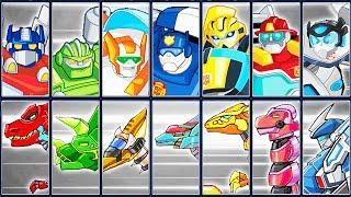 Transformers Rescue Bots: Dash + Dino Robot Corps | Eftsei Gaming