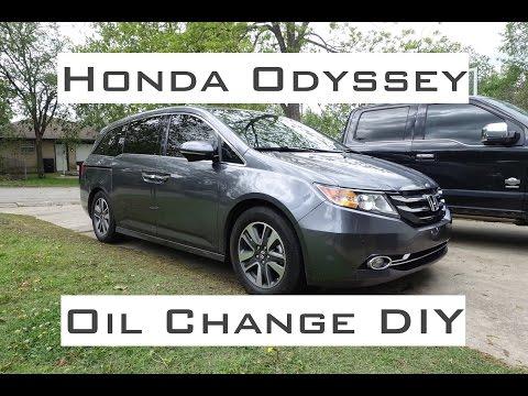 Honda Odyssey / Oil Change DIY / 2011-2017