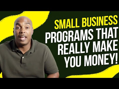 Which federal small business programs really make you money!!!! How to qualify and apply!