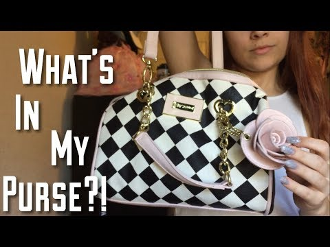 WHAT'S IN MY BETSEY JOHNSON PURSE?!