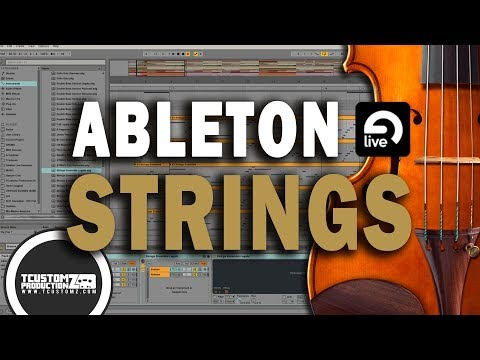 Awesome Orchestra Strings Patches (Stock Sounds) in Ableton Live 9 | Brass, Cello, Horns & Strings