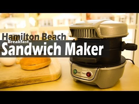 REVIEW: Hamilton Beach Breakfast Sandwich Maker