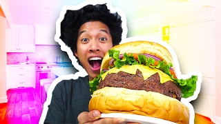 Download DIY Giant Cheese Burger!!! Video