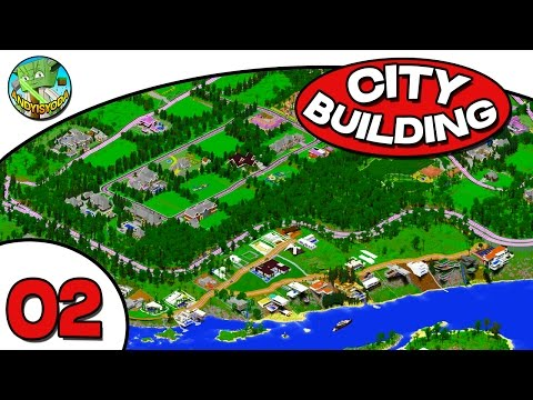 Minecraft City Building E02 - TownHouse, Hospital and Trees!