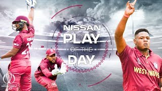 Nissan Play of the Day | West Indies vs Pakistan | ICC Cricket World Cup 2019