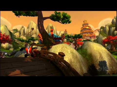 World of Warcraft: Mists of Pandaria: Wandering Isle Fly-Through