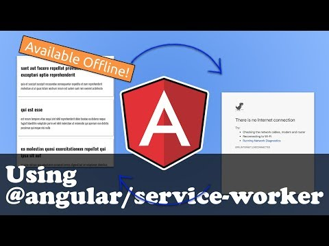 Angular Service Worker Tutorial