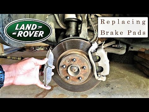 Land Rover: Replace Your Brake Pads & Eliminate Brake Squeaking - Stop better