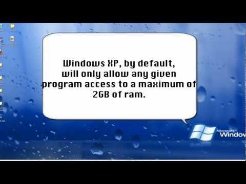Windows XP Add Memory To Programs