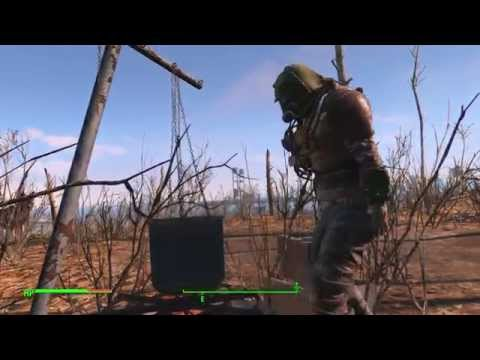 Fallout 4 - Tenpines Bluff: Cooking Station Tutorial: Deathclaw Steak Crafted (1 Hour +1 Agility)