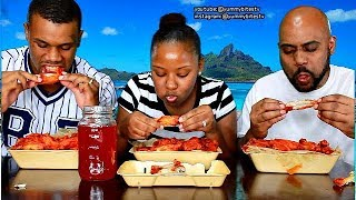 Download EPIC HOT WING CHALLENGE! LOSER DOES THE BEYONCE! (MUST WATCH!) Video