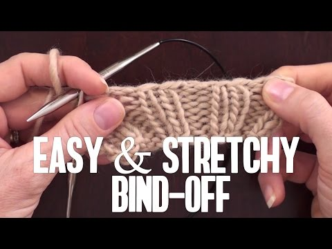 The STRETCHY, All-Purpose Bind Off You've Been Waiting For, based on
