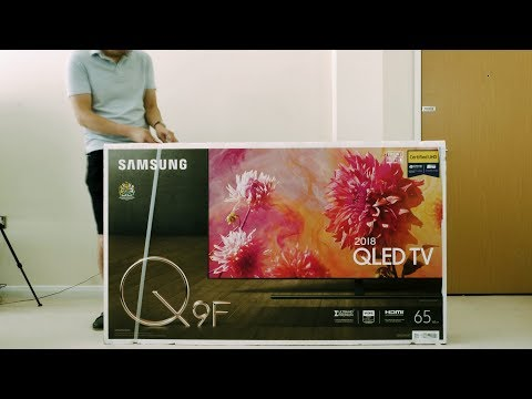 Samsung 2018 Q9F/ Q9FN QLED TV Unboxing + Picture Settings