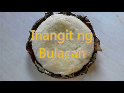 Inangit ng Bulacan   Glutinous Rice Dessert   (Plain)