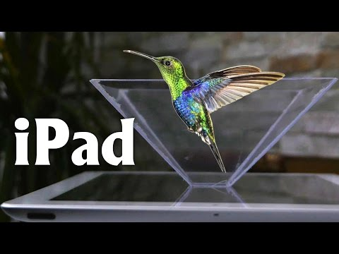 Homemade 3D Hologram Projector - Turn your Smartphone into a 3D Hologram, Amazing!