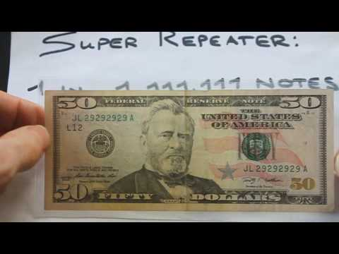 One in a million!  Super Repeater.  Fancy Serial Number