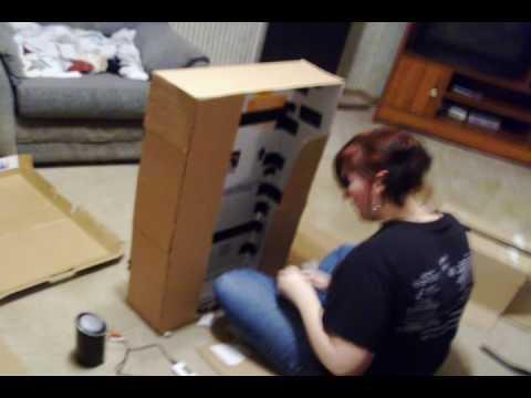 Making A Cardboard TV.wmv