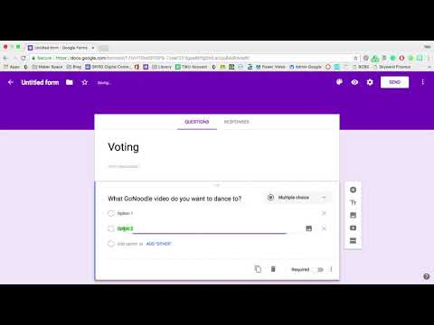 Google Form - Voting Tutorial