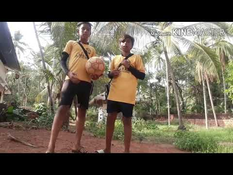learn how to juggle a football in malayalam with J7 freestylers