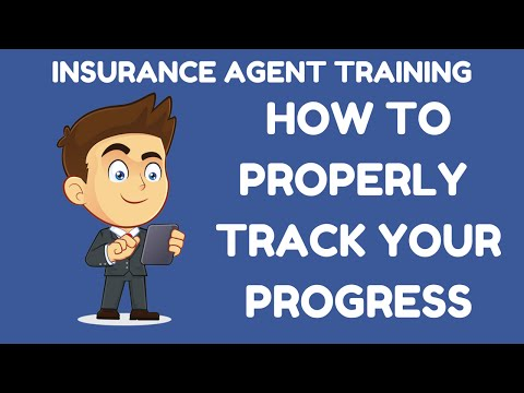 How to Properly Track Your Progress in Insurance Sales