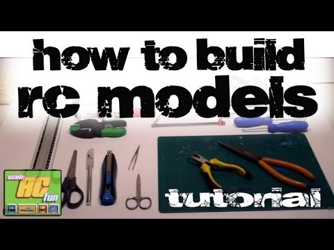 tutorial, how to build rc bodies