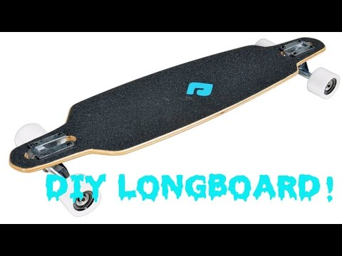 DIY! Turn a Skateboard into a Longboard!