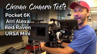 Pocket 6K vs Arri Alexa / RED Raven / URSA Mini Pro