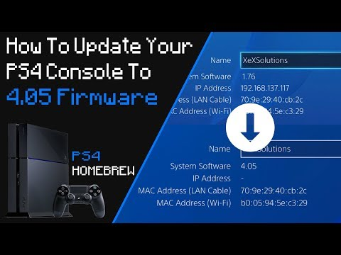 How To Update Your PS4 To 4.05 Firmware Version