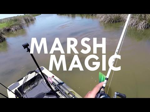 ActionHat presents: Marsh Magic - Sight Fishing for Texas Redfish