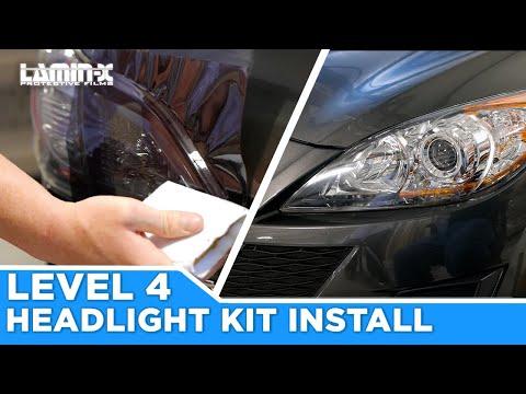 Lamin-x Precut Level 4 : Headlight Cover Installation