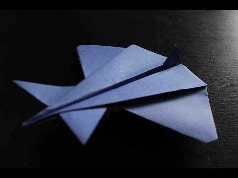 How to make a cool paper plane origami: instruction| Alien