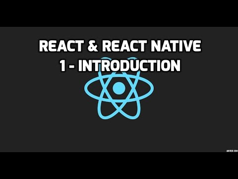 Formation React & React Native - 1 - Introduction