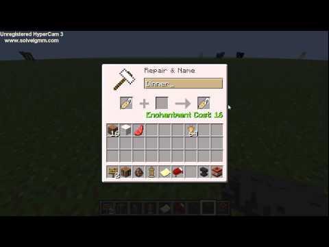 Minecraft upside down animal tutorial
