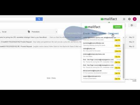 Mailfact Email Tracker for Gmail - Tracing