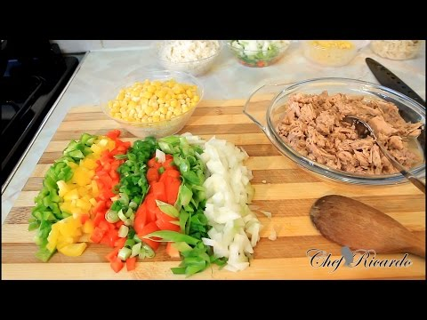 How To Make Tuna And Pasta At Home, | Recipes By Chef Ricardo
