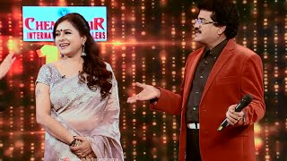 Onnum Onnum Moonu | Happy moments with M G Sreekumar & wife | Mazhavil Manorama