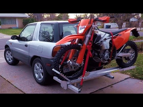Installing a dirt bike rack on my RAV4 (episode 3)