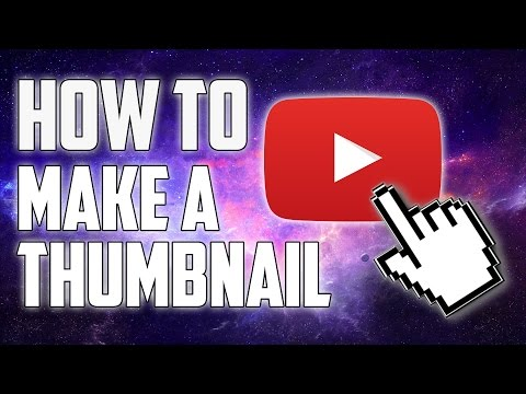 How To Make Thumbnails (Without Photoshop) for YouTube Videos!