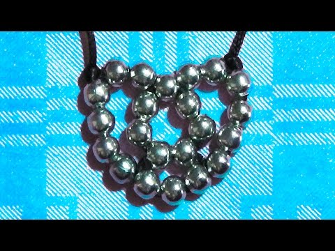 how to make a heart with beads crafts for san valentine lovers friendship gift present day