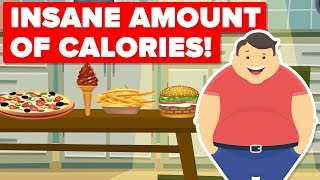This Fast Food Item Has OVER 1,500 Calories! WORST Fast Food Items You Can Order!