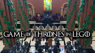 game of thrones red keep in lego