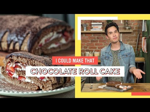 Sam Tsui Attempts To Make A Chocolate Roll Cake | I Could Make That