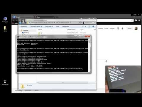 How To Fastboot OEM Unlock & Lock Bootloader Android Nexus 7