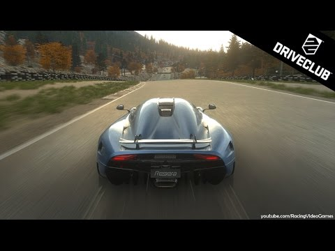 DriveClub   Koenigsegg REGERA Gameplay   New Fastest Car (PS4)