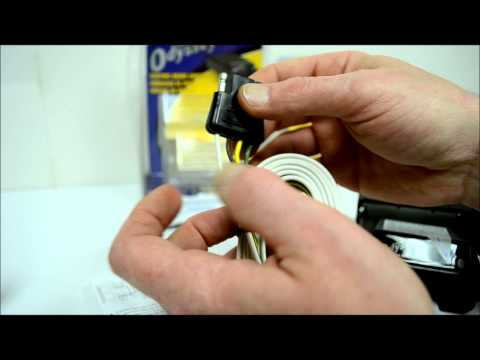 How to wire a trailer hitch and electric brakes