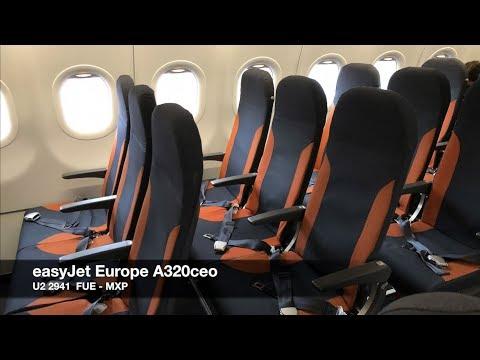 TRIP REPORT | easyJet Europe A320ceo SpaceFlex | Fuerteventura ✈ Milan MXP