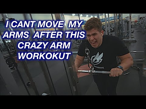HE KILLED MY ARMS WITH THIS WORKOUT!