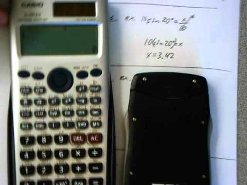 Soh Cah Toa How to Use Your Calculator